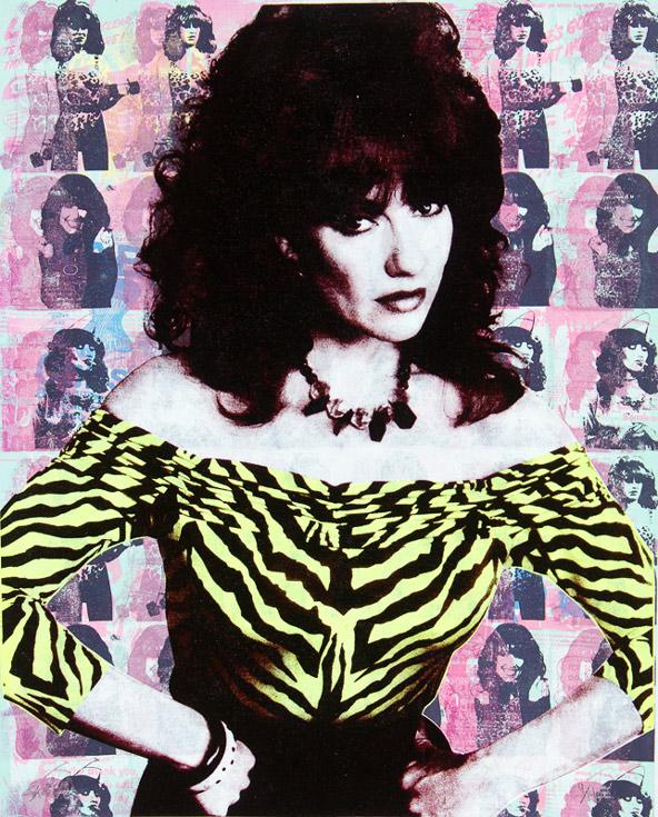 Peggy Bundy Donald Topp icon print