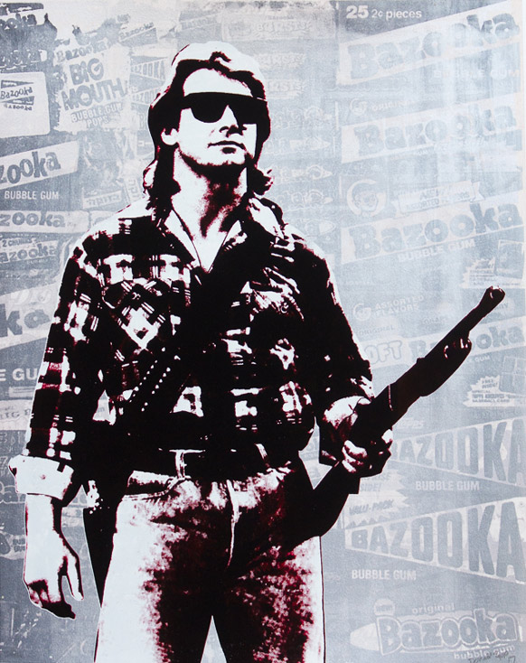 Roddy Piper from They Live Donald Topp icon print