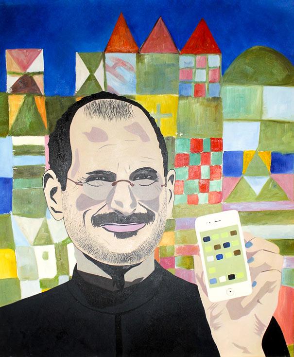 Steve Jobs by Maximilian