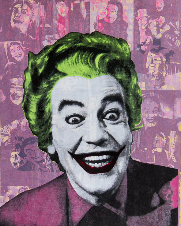 The Joker Donald Topp icon print