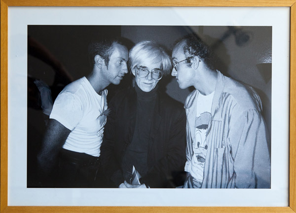 Kenny Scharff, Andy Warhol & Keith Haring by Patrick McMullen
