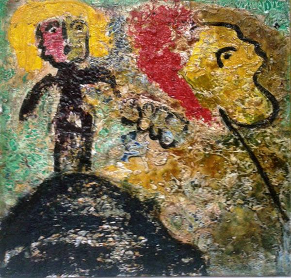"""by Matt Lamb ID# 1994-119 ● Oil on canvas ● 24""""x24"""""""