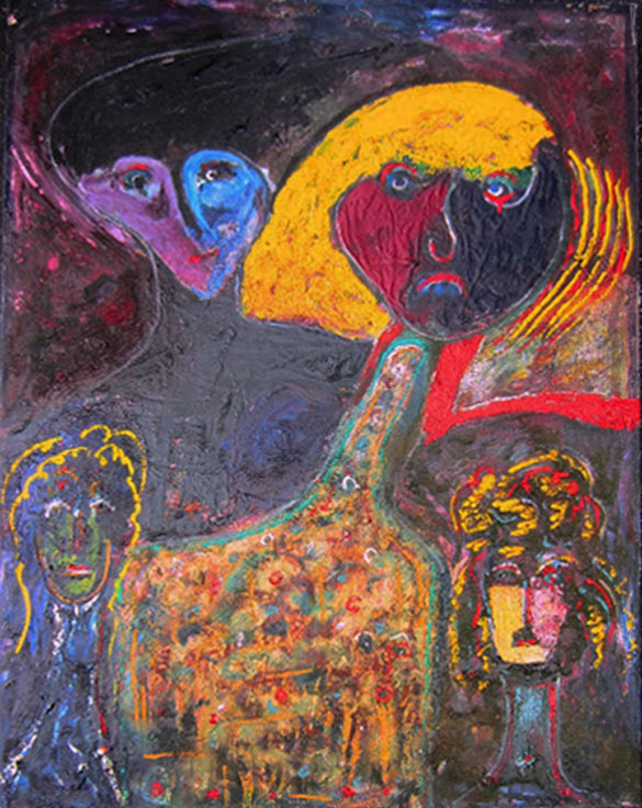 """by Matt Lamb ID# B-168-1996 ● Oil on canvas ● 30""""x40"""