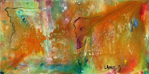 """by Matt Lamb ID# C-166-2009 ● Oil on canvas ● 48""""x24"""""""