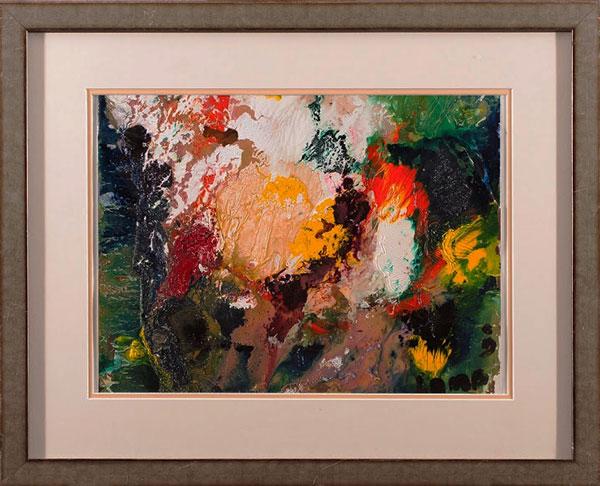 """by Matt Lamb ID# FWC-063-2009 ● Oil on paper (framed) ● 18""""x13"""" ● Frame: 27""""x22"""""""