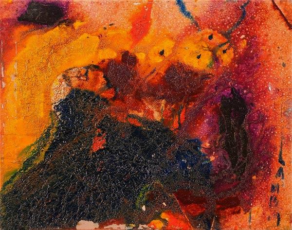 """by Matt Lamb ID# SB-173-2007 ● Oil on canvas ● 19.63""""x15.75"""" ● Est. value: $5,335"""