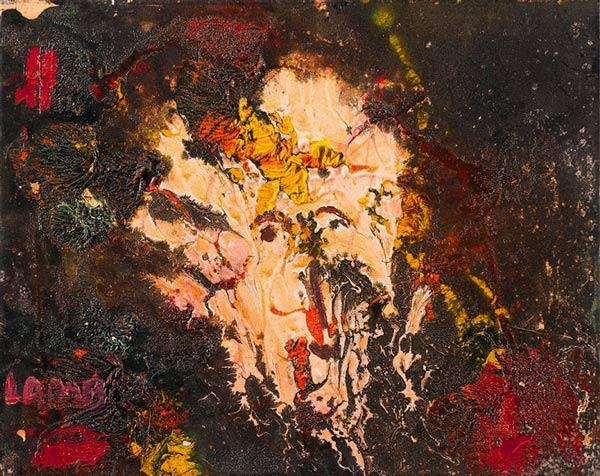"""by Matt Lamb ID# SBI-414-2007 ● Oil on canvas ● 19.63""""x15.75"""""""
