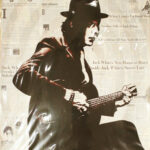 Jack White Icon Print by Donald Topp