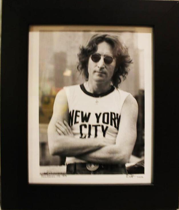 John Lennon NYC by Bob Gruen