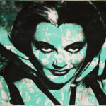 Lily Munster Icon print by Donald Topp