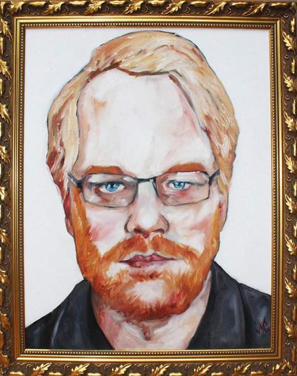 Phillip Seymour Hoffman by Mark Rektorski
