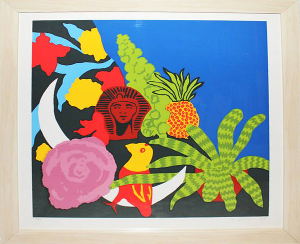 signed limited edition Serigraph