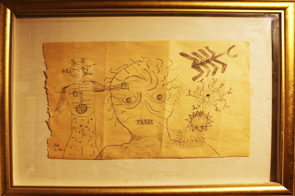 by Andy Kane original pencil drawing on paper
