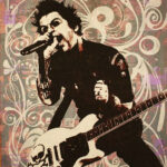 Billy Joe Icon Print by Donald Topp