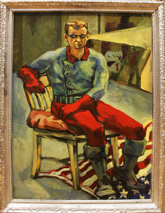 Bucky After The Silver Age - by James Peterson Oil Painting on canvas