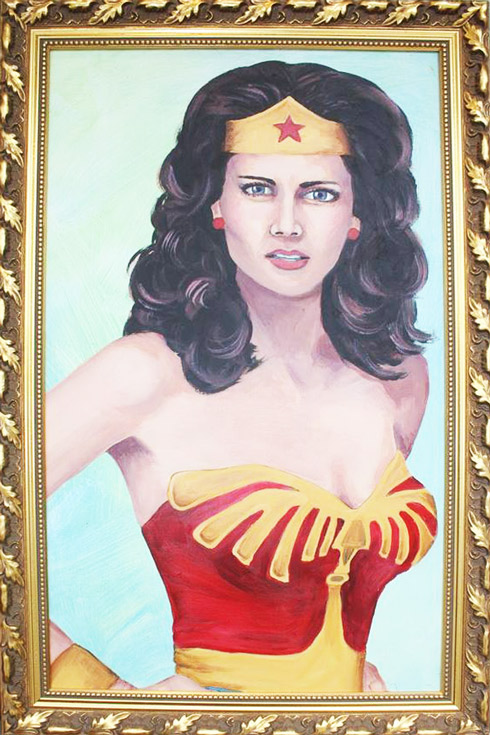 Wonder Woman Lynda Carter by Lea Pinsky