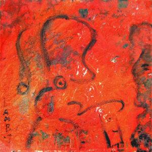 """by Matt Lamb ID# C 720-2007 ● Oil on canvas ● 24""""x24"""""""