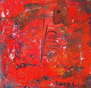 """by Matt Lamb ID C 721-2007 ● Oil on canvas ● 24""""x24"""""""