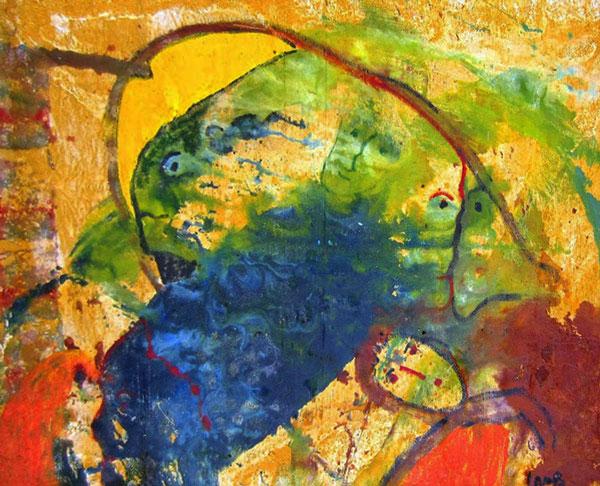"""by Matt Lamb ID# SBI 077-2006 ● Oil on canvas ● 46""""x66"""""""