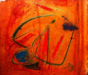 """by Matt Lamb ID# WC 235-2005 Oil on canvas 18.5""""x15"""""""