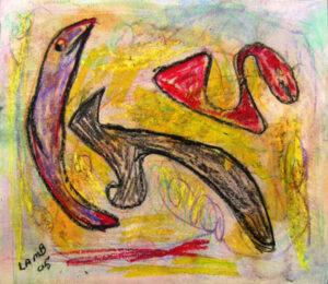 """by Matt Lamb ID# WC 330-2005 ● Oil on canvas ● 18""""x15"""""""
