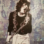 Mick Jagger Icon print by Donald Topp