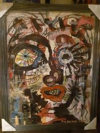 Him by Paul Kostabi