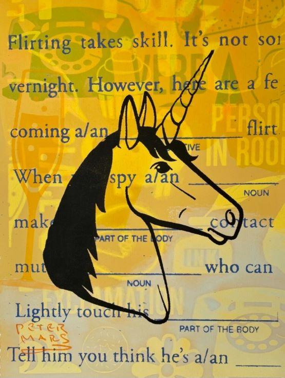 UnicornFlirtingTakesSkill-11x14.5_PeterMars