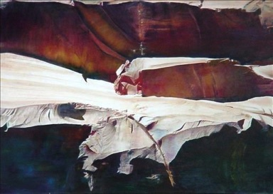 Painting from Carrie Quade, Santa Fe, New Mexico