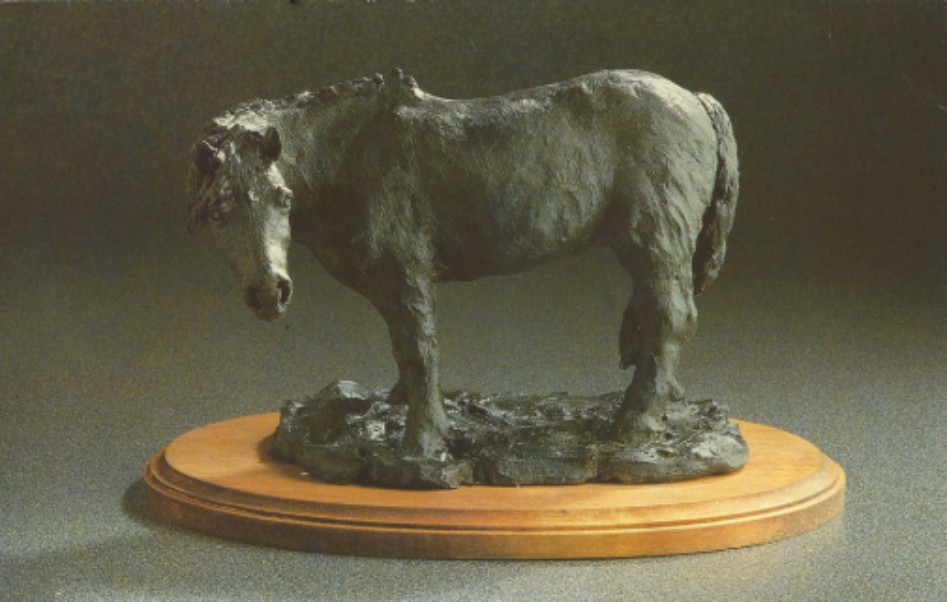 Bronze sculpture of Thunder