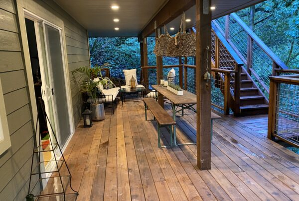 Forestville Airbnb Porch
