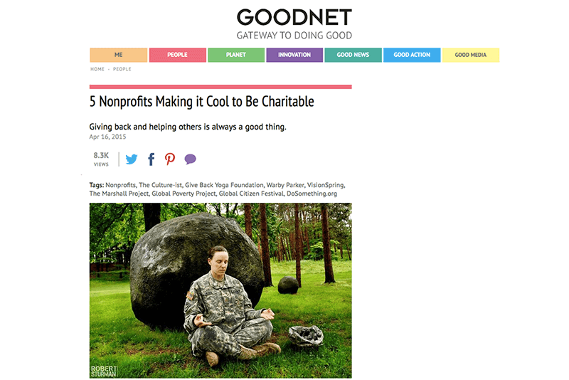 5 Nonprofits Making it Cool to Be Charitable   Goodnet