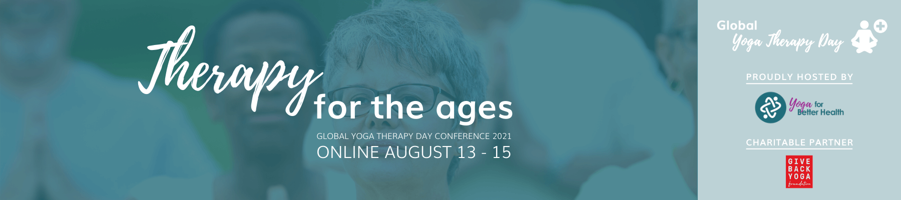 Global Yoga Therapy Day Conference 2021: Online, August 13-15
