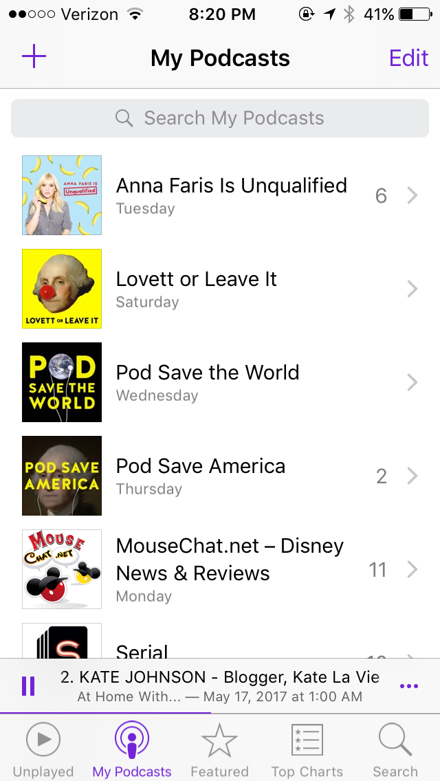 Podcasts That I Love