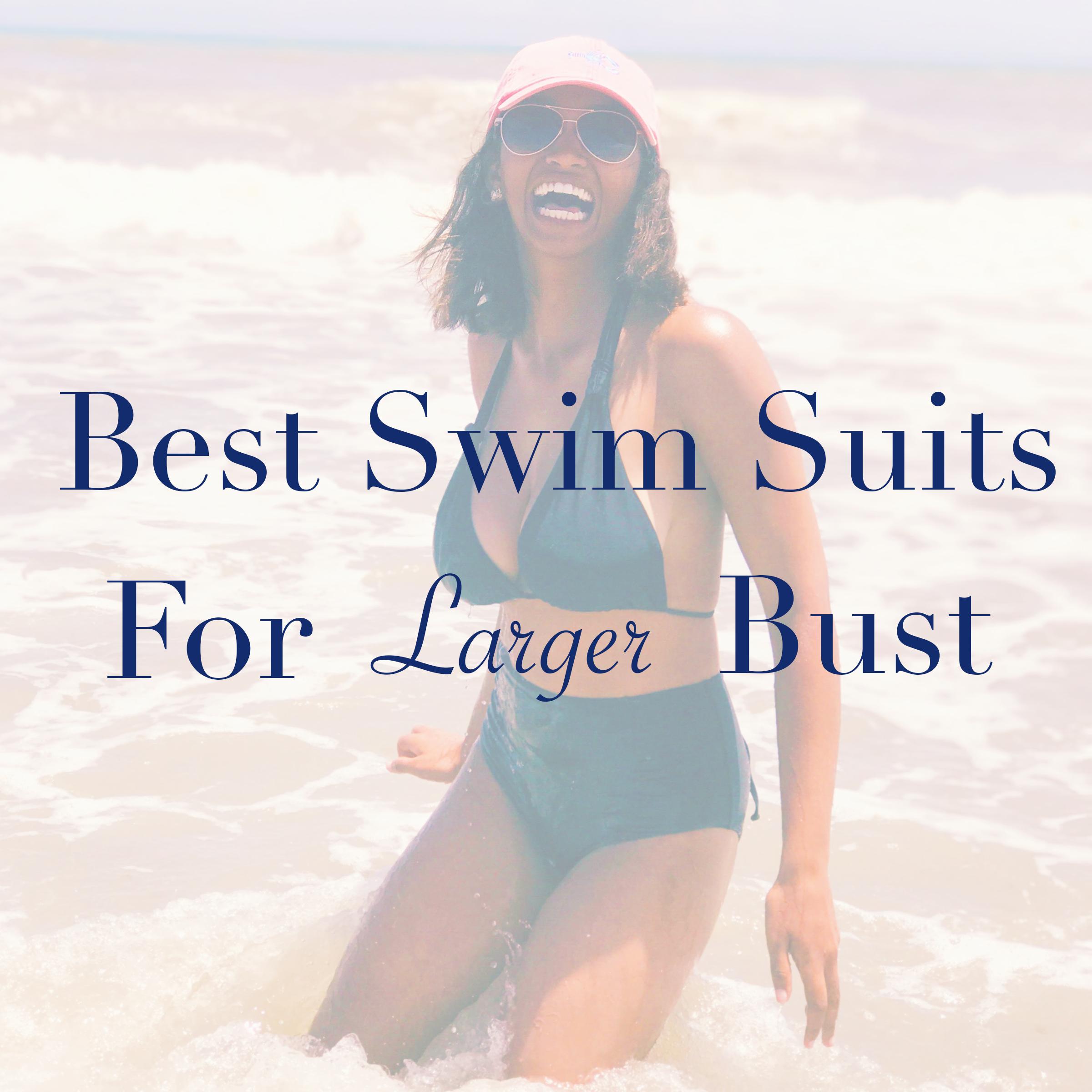 Best Swim Suits For Larger Bust