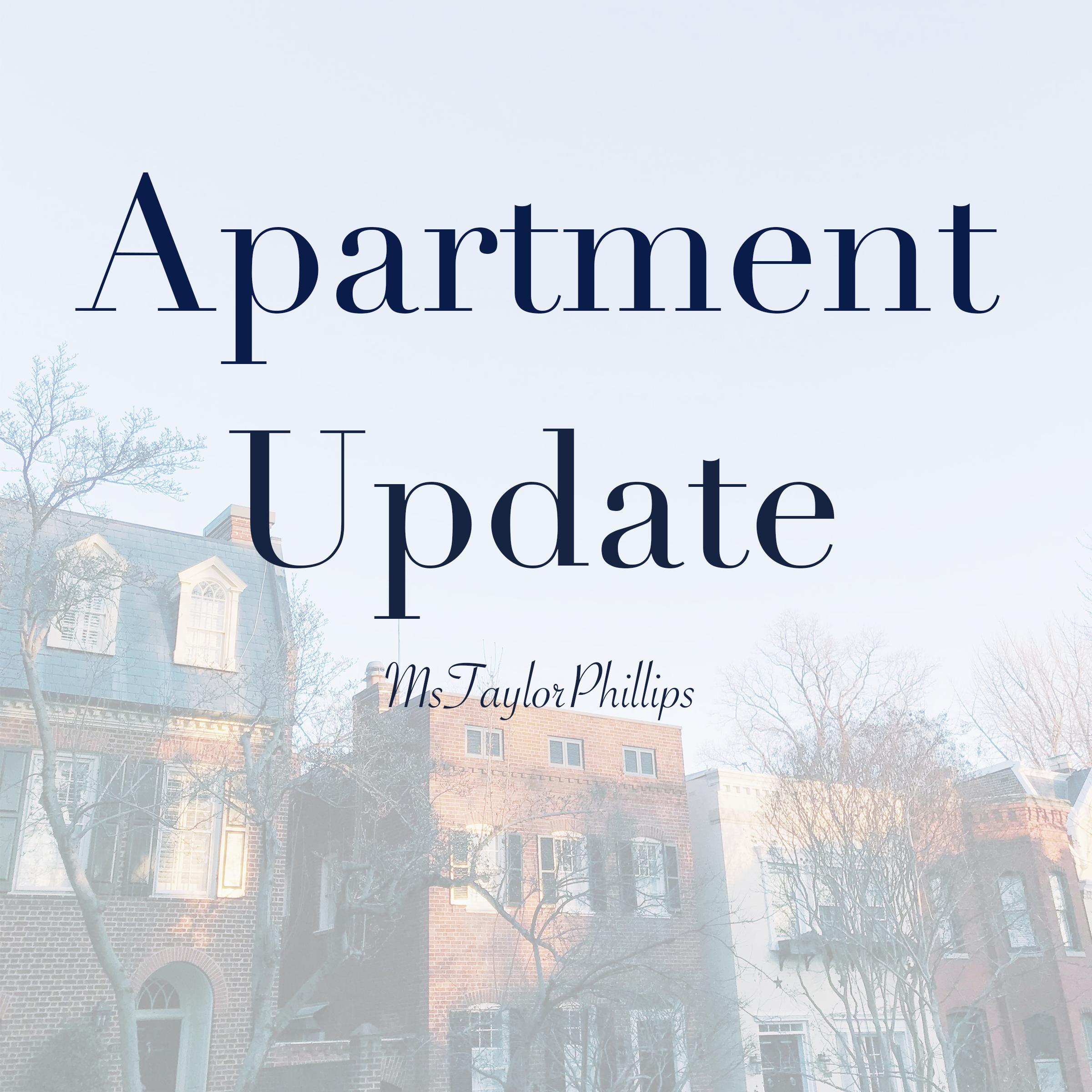 Apartment Update~ January