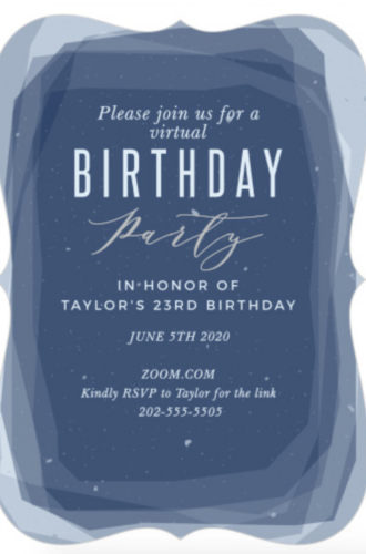 My Strangest Birthday With the BEST Invitations
