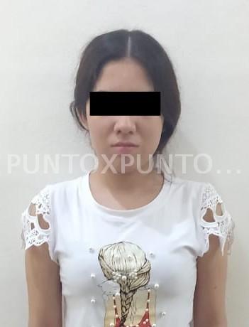 DETIENE FUERZA CIVIL A PAREJA POR PORTACION DE ARMA DE FUEGO EN CARRETERA TERAN, CHINA.