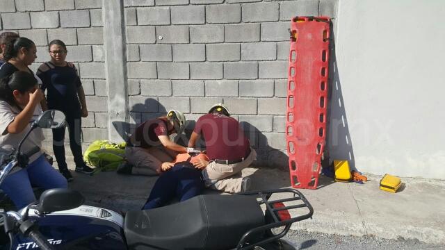 ACCIDENTE VIAL EN MONTEMORELOS, REPORTAN PERSONA LESIONADA.