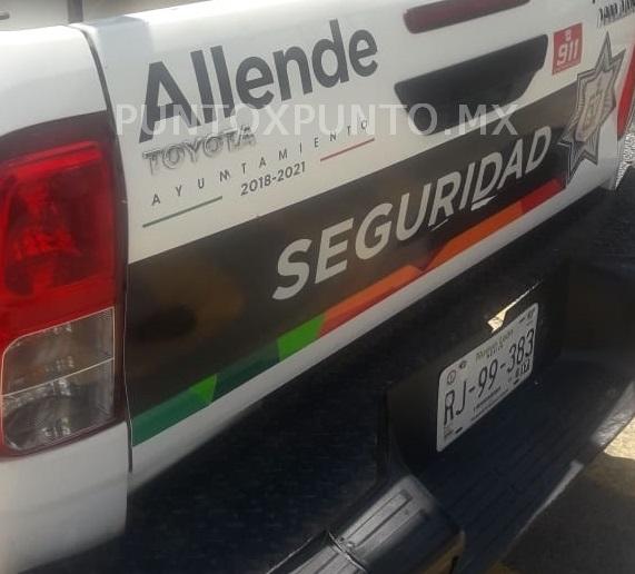 HOMBRES ARMADOS IRRUMPEN EL LOTE DE AUTO EN ALLENDE SE LLEVAN VEHICULOS, LOGRAN DETENER A DOS.