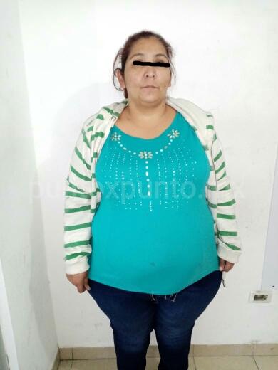 LA SOPRENDEN EN TIENDA DEPARTAMENTAL DE LINARES, SAQUEANDO.