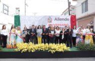 GRAN INAUGURACIÓN DE LOS FESTEJOS DEL 170 ANIVERSARIO DE ALLENDE NL.