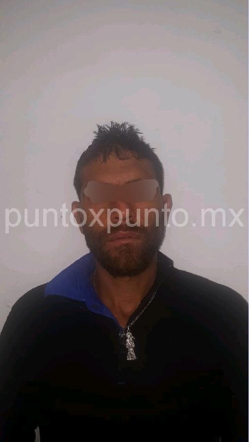 LO DETIENE LA POLICIA DE MONTEMORELOS, LE ENCUENTRAN DROGA ES CONSIGNADO.
