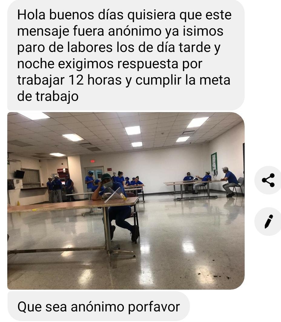 PARAN LABORES EMPLEADOS DE EMPRESA HITACHI EN MONTEMORELOS.