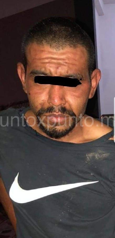 DETIENE LA POLICIA DE CADEREYTA HOMBRE ARMADO Y CON DROGA ES CONSIGNADO.