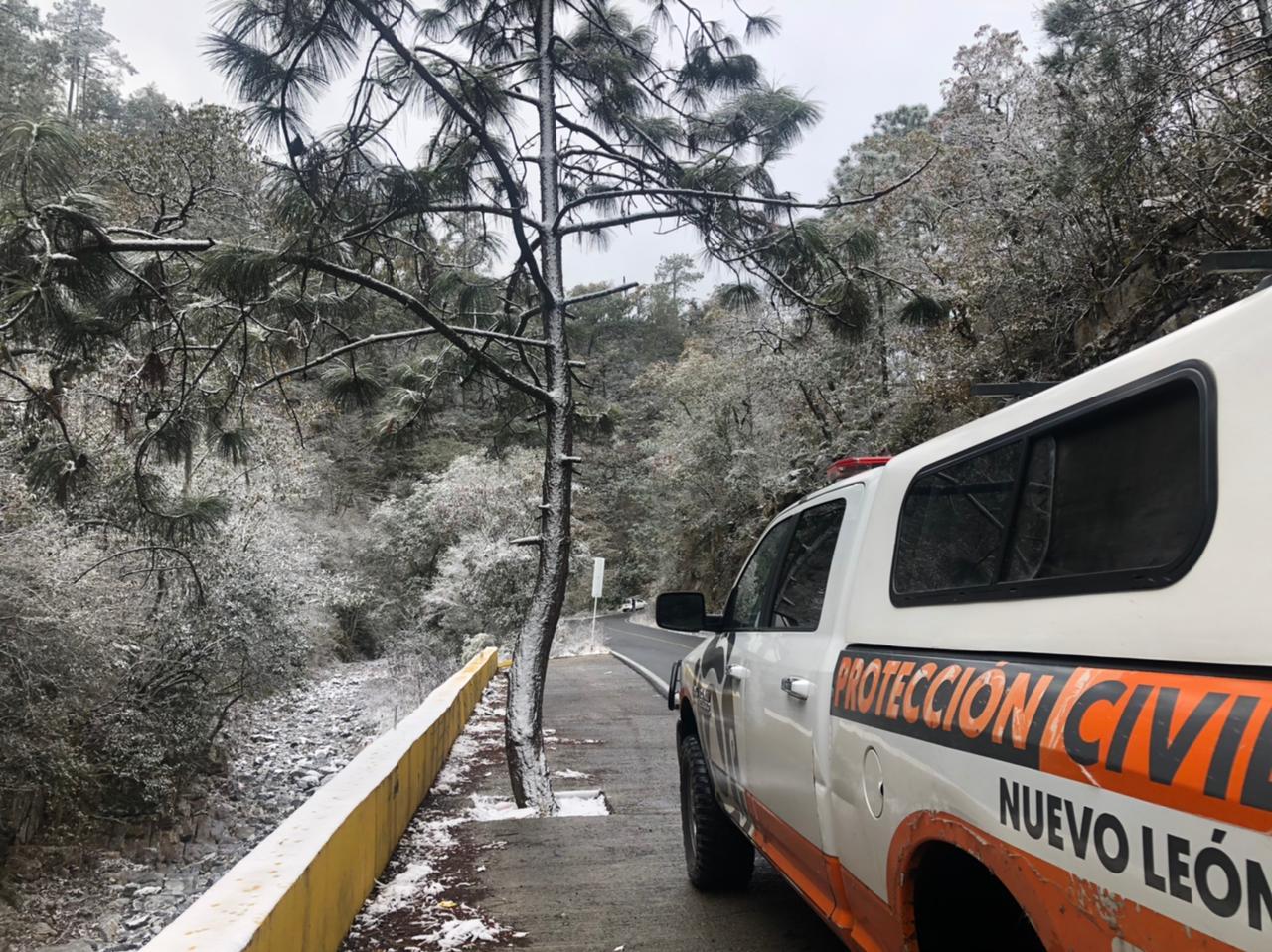 REPORTA PROTECCION CIVIL DEL ESTADO PRIMERA NEVADA.