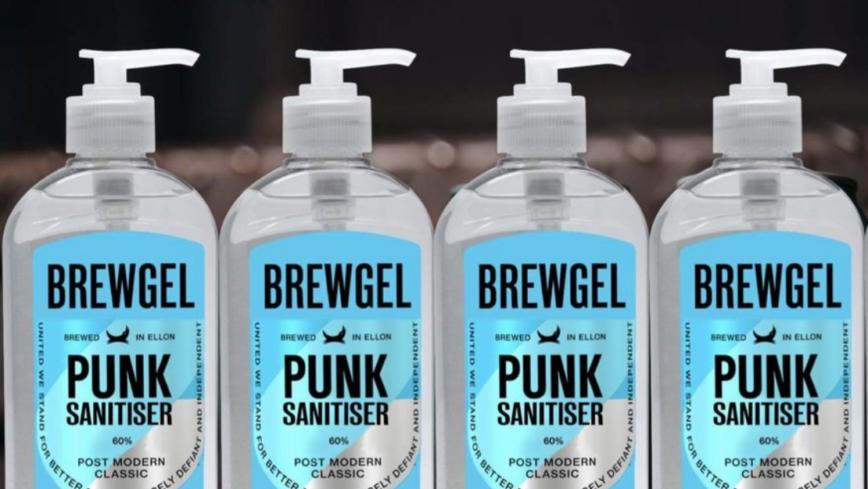 BrewGel เจลล้างมือโดย BrewDog คราฟต์เบียร์ที่ตั้งใจช่วยเหลือทุกคนให้ปลอดภัยมากที่สุด(เท่าที่จะมากได้!)