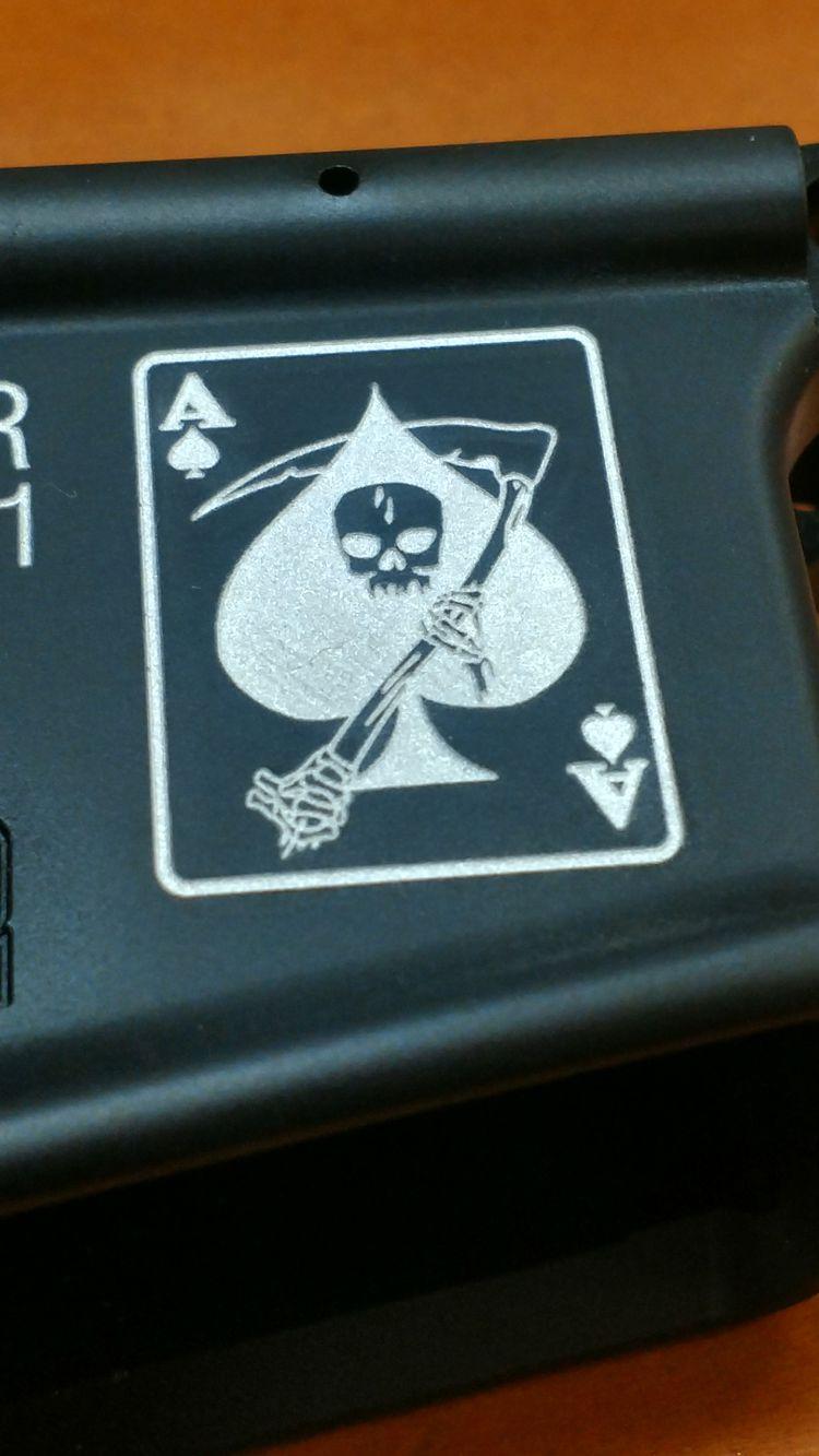 AR Lower Engraving