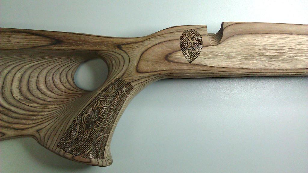 Wood stock scroll