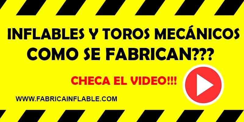 VIDEO DE FABRICA DE INFLABLES